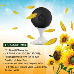Camera Dahua IP Wifi 2.0MP IPC-C22EP-IMOU