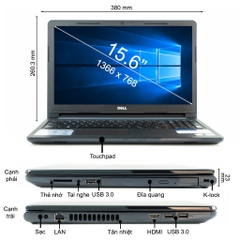 Laptop Dell Inspiron N3576A P63F002N76A