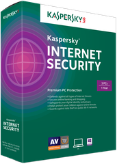 Kaspersky Internet Security for 3 PC (KIS 3U)