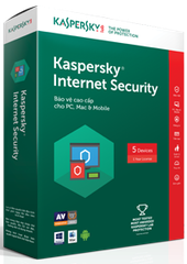 Kaspersky Internet Security (KIS 5U)