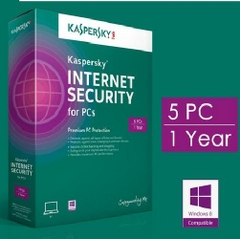 Kaspersky Internet Security for 5 PC (KIS 5U)