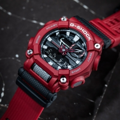 G-SHOCK GA-900-4A HEAVY-DUTY RED | GA-900-4ADR