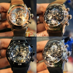 ĐỒNG HỒ REEF TIGER AIR BUBBLE SKELETON RGA703-PWB (Automatic)