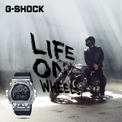 G-SHOCK GM-6900-1 METALLIC BEZEL | GM-6900-1DR