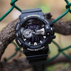 G-SHOCK GA-400GB-1A Black Silver