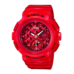 BABY-G BGA-195M-4ADR FULL RED | BGA-195M-4A