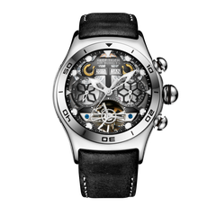 ĐỒNG HỒ REEF TIGER AIR BUBBLE SKELETON RGA703-YBB (Automatic)
