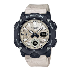G-SHOCK GA-2000WM-1ADR CARBON CORE Dây Nhựa | GA-2000WM-1A