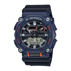 G-SHOCK GA-900-2A HEAVY-DUTY BLUE | GA-900-2ADR