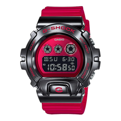 G-SHOCK GM-6900B-4 RED METALLIC BEZEL 25th Anniversary | GM-6900B-4DR