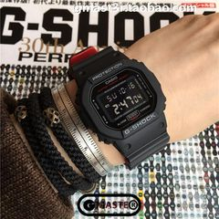 G-SHOCK DW-5600HR-1 Black x Red Heritage Color
