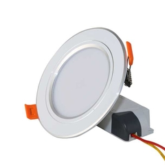 Đèn LED Âm trần Downlight 90/7W Model: D AT10L 90/7W (Viền Bạc)