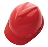 HARD HAT  - MSA  -RED