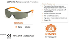 Glasses  h Kings KY2222 - smoke