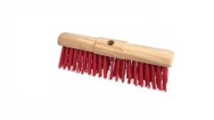 Brush deck  NYLON , RED