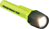 Flashligh Pelican 2340 yellow, 2 cell AA
