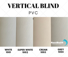 Vertical Blinds - PVC
