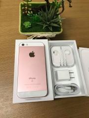 Iphone 5se-32gb UQ mobile 100% hồng ID: 1905329