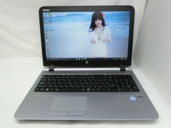 "HP PROBOOK 450 G3 15.6"" CORE I5 / 6200U / 2.30GHZ-2.40GHZ/ 4G/ HDD 500G/ MADE IN JAPAN. ID:T0629 MQTM"