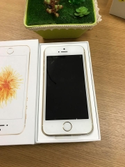 Iphone 5se-128gb UQ mobile 100% vàng ID: 0620550
