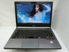 "FUJITSU LIFEBOOK E736/M 13.3"" CORE I5 / 6300U / 2.40GHZ- 2.50GHZ / 8G / SSD 128G.MADE IN JAPAN.MODE11/2016. MS: N0730 0071"