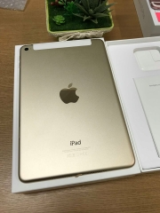 Ipad mini4-32gb 7,1in-32gb 98,5% vàng wifi+ 4g ID: 5466139