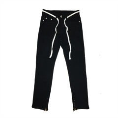 DVSL Jeans Inside Zips In Black