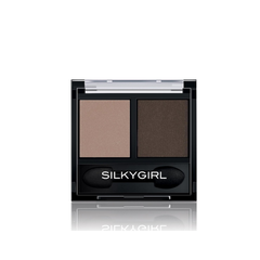 Phấn Mắt SILKYGIRL DOUBLE INTENSE DUO 03 GLAMOUR BABE