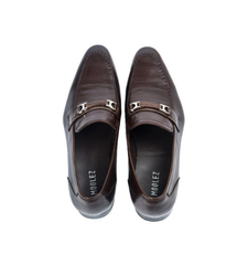 Giày Bit Loafer Shoes MAFOW012-DBR-40