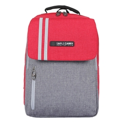 Balo laptop SimpleCarry Issac2 Red/Grey