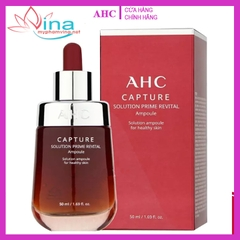 TINH CHẤT AHC CAPTURE SOLUTION PRIME REVITAL AMPOULE 50ML (ĐỎ MẬN)