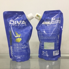 hấp dầu diva collagen repair 500ml – Italy
