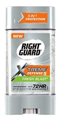 Gel khử mùi Right Guard Xtreme Defense Fresh Blast 113g