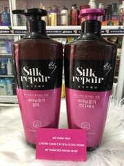 Cặp gội xả Silk Repair Shampoo/Conditioner 600ml/1 chai