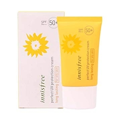 Kem chống nắng innisfree Perfect uv protection cream long lasting SPF50+/PA+++ for oily skin 50ml