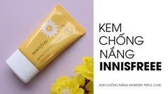 Kem chống nắng Innisfree Triple Care SPF50 PA+++ 50ml