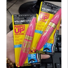 Mascara maybelline volum express pumped up 12x