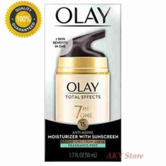 Kem Olay Total Effects 7in1 Anti-Aging Moisturizer With Sunscreen 50ml