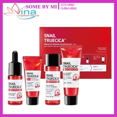 BỘ 4 MÓN SOME BY MI SNAIL TRUECICA MIRACLE REPAIR STARTER KIT