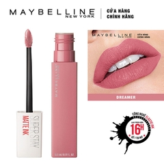 Son Kem Lì Maybelline Super Stay Matte Ink 5Ml số 10 Dreamer