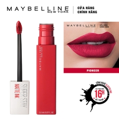 Son Kem Lì Maybelline Super Stay Matte Ink 5Ml số 20 Pioneer