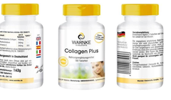 COLLAGEN PLUS WARNKE – MADE IN GERMANY - 180 viên