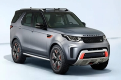 Thanh giá nóc xe Landrover Discovery 2015