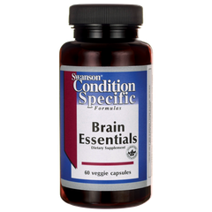 Viên uống bổ não Swanson Condition Specific Brain Essentials 60 Veggie Capsules