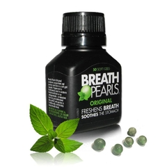 KẸO NGẬM THƠM MIỆNG BREATH PEARLS FRESHENS BREATH SOOTHES THE STOMACH 50 VIÊN