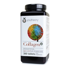 Collagen Youtheory Type 1 2 & 3 390 Viên Của Mỹ-Collagen