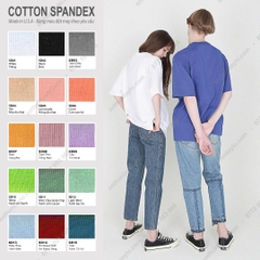 VẢI COTTON SPANDEX (Made in USA)