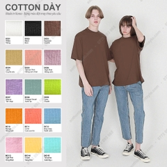 VẢI FRENCH TERRY COTTON DÀY (Made in KOREA)