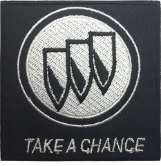 TAKE A CHANCE STICKER 91 A6
