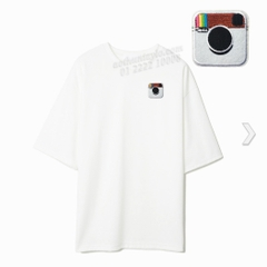 LOGO INSTAGRAM STICKER 81 - A7 (7cm)